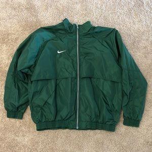 Forest Green Nike Windbreaker Jacket